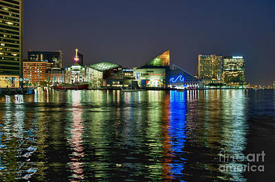 Baltimore Md Photograph - Baltimore Skyline by John Greim