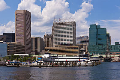 Photograph - Baltimore Skyline by Lou Ford
