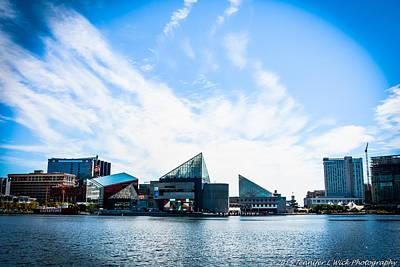 Beastie Boys - Baltimores Inner Harbor by Jennifer Wick