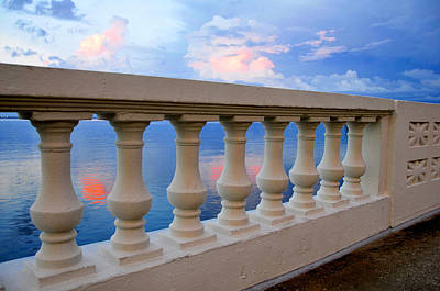 Photograph - Balustrades Of Tampa Florida by David Lee Thompson