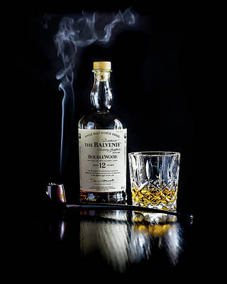Photograph - Balvenie And Pipe by Adam Reinhart