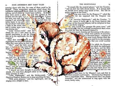 Mixed Media - Bambi Fairy Tale by Heidi Kriel