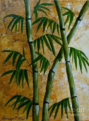 Bamboo Art Print by Agusta Gudrun  Olafsdottir