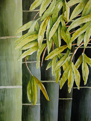 Painting - Bamboo by April Burton
