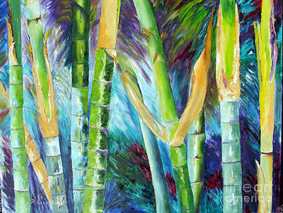 Painting - Bamboo Delight by Lisa Boyd