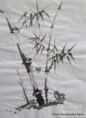 Bamboo Grove 4 Art Print by Anna Folkartanna Maciejewska-Dyba