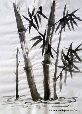 Bamboo Grove 6 Art Print by Anna Folkartanna Maciejewska-Dyba