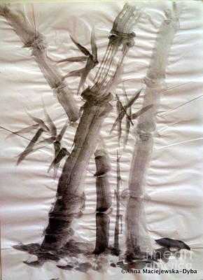 Bamboo Grove Art Print by Anna Folkartanna Maciejewska-Dyba