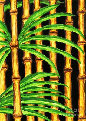 Painting - Bamboo by Irina Afonskaya