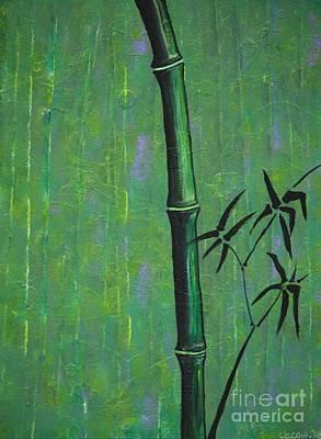 Bamboo Art Print by Jacqueline Athmann