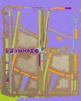Mixed Media - Bamboo Lagoon by Barbara Jacobs