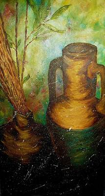 Painting - Bamboo by Michele Marie Catalano