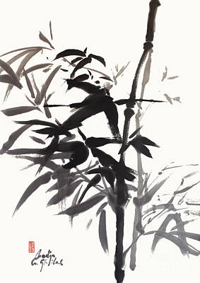 Painting - Bamboo by Nadja Van Ghelue