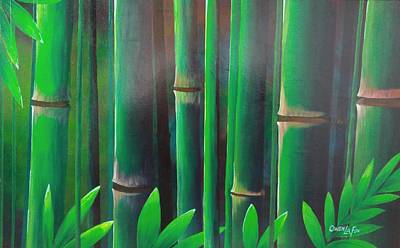 Painting - Bamboo  by Owen Lafon