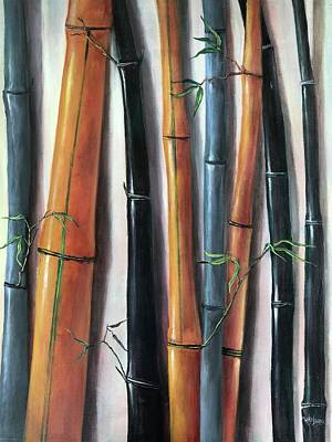 Painting - Bamboo Rhythm  by Randy Burns