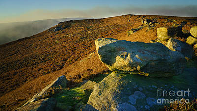 Bamford Edge Path Art Print