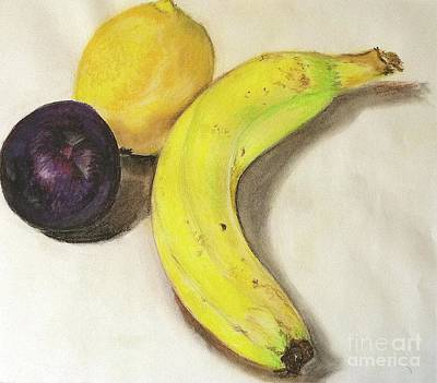 Pastel - Banana And Company by Sheron Petrie
