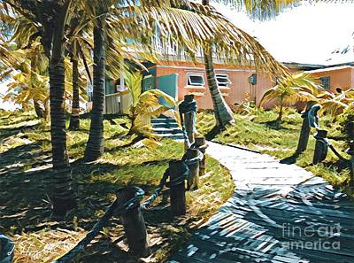 Banana Bay Art Print