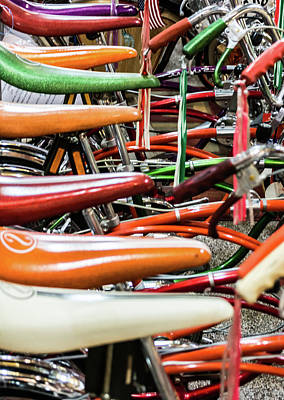 Photograph - Banana Bikes by Stewart Helberg