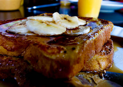 Photograph - Banana Breakfast Toast by Marisela Mungia