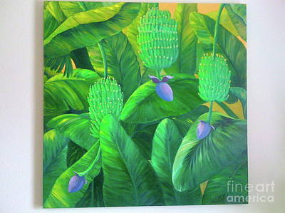 Painting - Banana Forest by Patti Lane