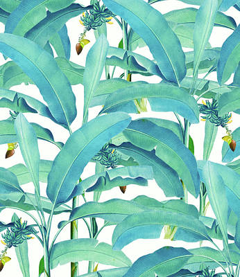 Banana Forest Art Print
