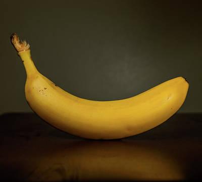 Banana In Elegance Art Print