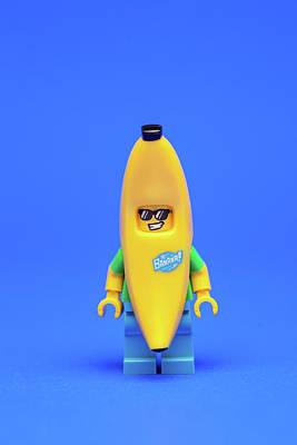 Banana Photograph - Banana Man by Samuel Whitton