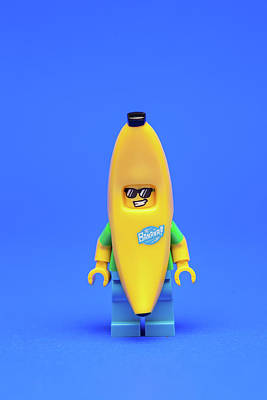 Banana Man Art Print by Samuel Whitton