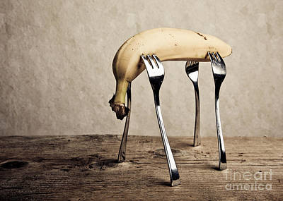 Sad Photograph - Banana by Nailia Schwarz