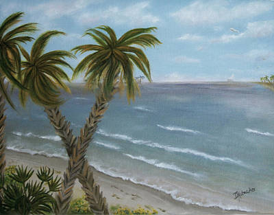 Painting - Banana River by Dawn Harrell