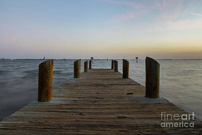 Photograph - Banana River Dock by Jennifer White