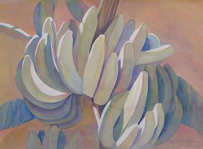 Banana Series 26 Art Print by Carol McDonald