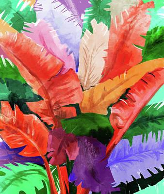 Digital Art - Banana Tree by Uma Gokhale