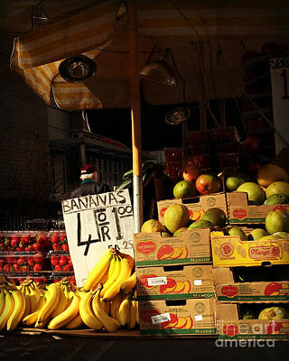 Photograph - Bananas 4 For A Dollar by Miriam Danar