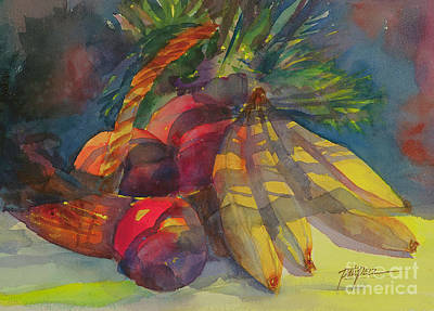 Painting - Bananas And Fruit by Pati Pelz