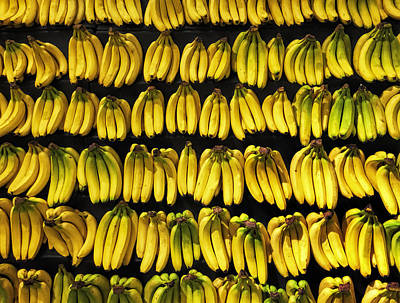 Food Stores Photograph - Bananas by Andrew Soundarajan