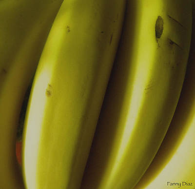 Bananas Art Print by Fanny Diaz