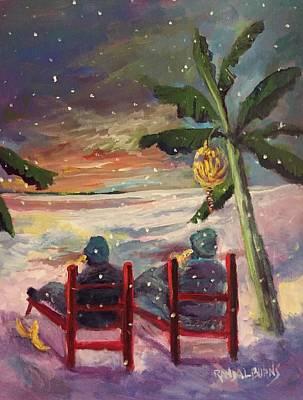 Painting - Bananas by Randol Burns