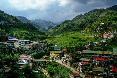 Photograph - Banaue Rice Terraces by Roy Cruz