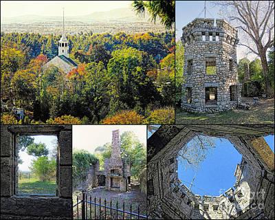 Photograph - Bancroft Castle Gibbet Hill Groton Ma  by Janice Drew