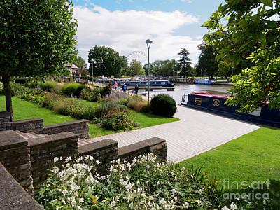 Photograph - Bancroft Gardens In Stratford Upon Avon Warwickshire by Louise Heusinkveld