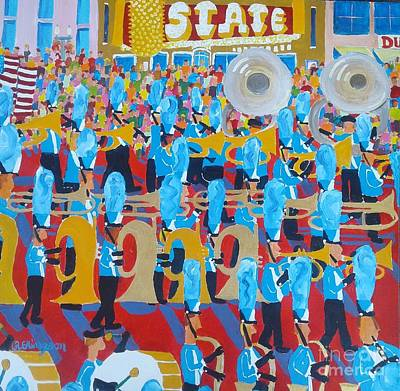 Painting - Band by Rodger Ellingson