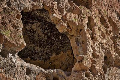 Photograph - Bandelier Cave Room #2 by Stuart Litoff