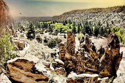 Photograph - Bandelier National Park by Diana Angstadt