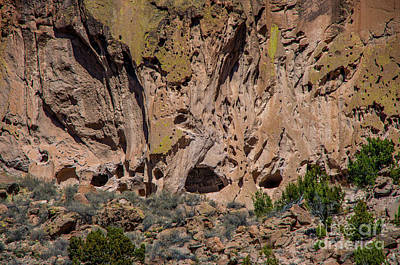 Photograph - Bandelier by Steve Whalen