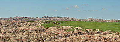 Photograph - Badlands Panorama by Nancy Landry