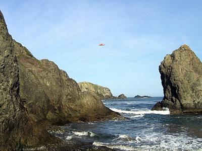Coastguard Photograph - Bandon 28 by Will Borden
