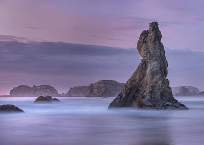 Photograph - Bandon At Deep Dusk by Greg Nyquist