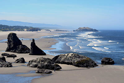 Photograph - Bandon Beach Below Face Rock by Michele Avanti
